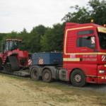 Перевозка тракторов Европа