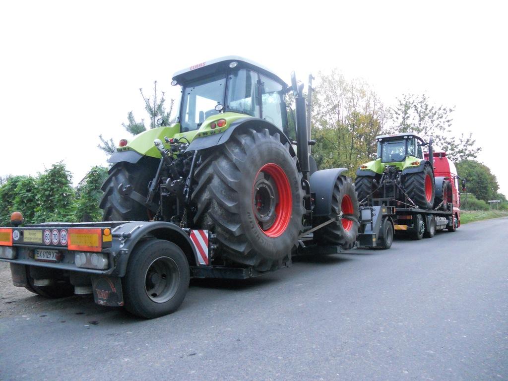 Młodzieńczy Transport maszyn rolniczych | Organizacja transportu ładunków VV67